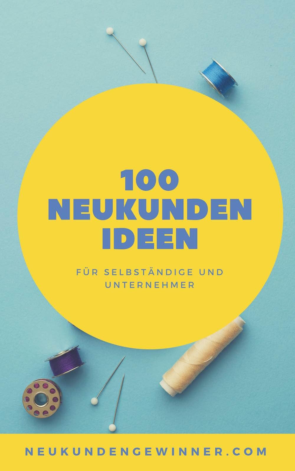 100 Vertriebsideen für die Neukundenakquise